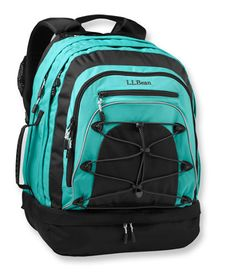 Turbo Transit II Backpack: holds 39 liters at L.L.Bean - would be a good gym bag