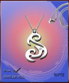 Axcesi 517T Tribal symbol pendant  stainless steel by Axcesi
