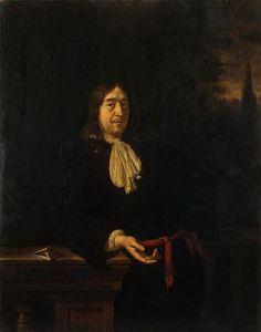 Frans van Mieris - Portret van een jongeman