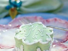 Bridesmaid Baby Cakes can be personalized with each attendant's initials. The batter is the same one used in the larger wedding cake, but...