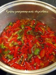 Preserving Food, Ratatouille, Preserves, Chili, Recipies, Soup, Beef, Ethnic Recipes, Pickles