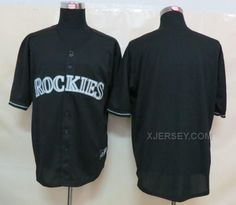 http://www.xjersey.com/rockies-blank-black-fashion-jerseys.html ROCKIES BLANK BLACK FASHION JERSEYS Only 32.17€ , Free Shipping!