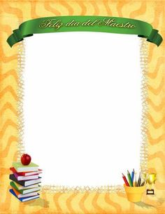 Visiting Card Design, Ppr, Borders And Frames, Jade, Page Borders, Teachers' Day, Activities, Cards