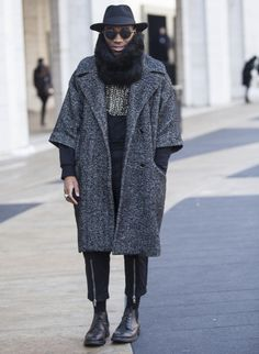 New York Fashion Week: Day 1 Street Style
