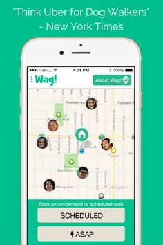Wag! The dog walking app. Find the perfect dog walker near you!