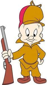 Elmer Fudd hunting the KWAZY WABBIT