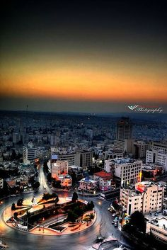 Amman Jordan. I WILL live here one day