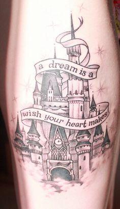 Cute Disney tattoo