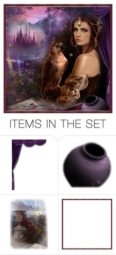 """""""Fantasy Set"""" by crezenthie ❤ liked on Polyvore featuring art"""