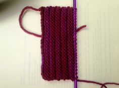 How to Cartridge Stitch - LoveKnitting blog
