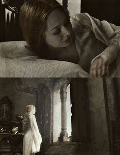 Eowyn in the Houses of Healing, Gondor