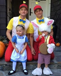 Neil Patrick Harris and David Burtka do it again! #Halloween #Family
