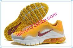 Mens Running Shoes Nike Air Max TR 180 Summer 2013 Tartrazine Yellow Team Red White 599838 761