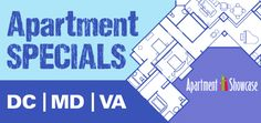 Deals on Apartments in DC Maryland and Virginia Apartment Showcase, Apartment Hunting, Washington Dc, Maryland, Virginia, Daily Deals, Capitol Heights, Apartments, Check