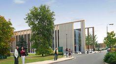 UK's Largest Prefabricated Straw bale Construction | Inhabitat - Sustainable Design Innovation, Eco Architecture, Green Building