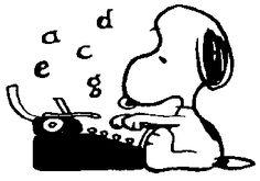 New Custom Screen Printed T-shirt Snoopy Typewriter Small - Peanuts Cartoon, Peanuts Snoopy, Snoopy Quotes, Custom Screen Printing, Charlie Brown And Snoopy, Snoopy And Woodstock, Writing A Book, Cartoon Characters, Peanuts Characters