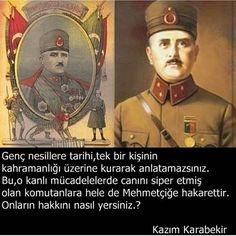 """#KazımKarabekir uyarıyor: """"Genç nesillere tarihi, tek bir kişinin kahramanlığı üzerine kurarak anlatamazsınız!"""""""