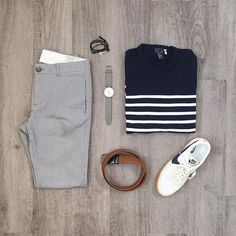 Fashion Style Summer Casual Capsule Wardrobe Ideas For 2019 Komplette Outfits, Fashion Outfits, Fashion Men, Sporty Outfits, Fashion Sale, Paris Fashion, Spring Outfits, Runway Fashion, Style Fashion