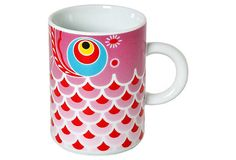 Koi Fish Mug, Pink on OneKingsLane.com