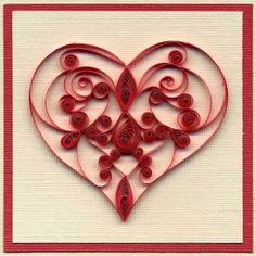 278 Best Quilling Cards Hearts Love Wedding Images On Pinterest