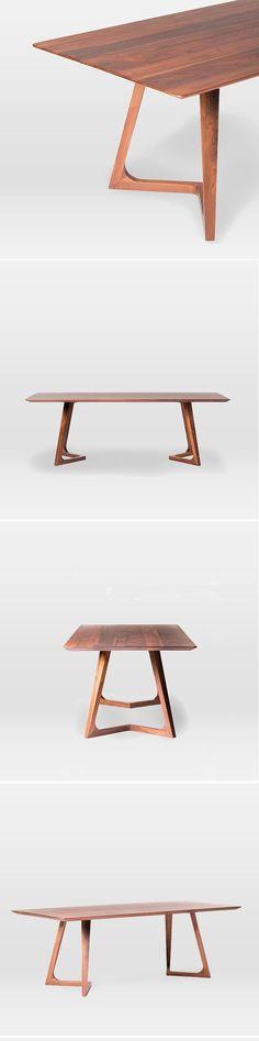 Dean Dining Table - Rectanglular Design