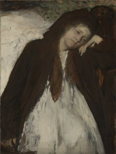 """""""The Convalescent,"""" Edgar Degas, about 1872 - January 1887. Oil on canvas."""