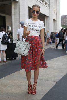 Street Style: NY Fashion Week Spring 2014 Round 3 - FLARE