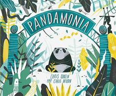 """""""Here's something to remember: when visiting the zoo, whatever you do, DON'T WAKE THE PANDA! Join in the fantastic fun of Chris Owen and Chris Nixon's Pandamonia, as one could-be-grumpy-if-woken-up sleeping panda sets off a frenzy of wild partying. There's grunting and growling and prancing and prowling and … It is so filled with energetic art and action and noise and alliteration that it just begs to be read aloud. Earned CBCA Book of the Year Notable. #awardwinning #childrensbook"""