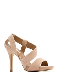 nude sandal, so in love with these shoes