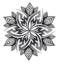 Tattoo Ideas Female Discover Mandala Handpoke Tattoo Design - C A Wills by Chris-Anthony-Wills on deviantART Mandala Tattoo Design, Dotwork Tattoo Mandala, Design Tattoo, Tattoo Designs, Tattoo Ideas, Henna Designs, Geometric Mandala Tattoo, Henna Mandala, Trendy Tattoos