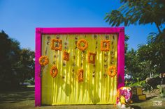 Looking for latest Outdoor Wedding Decorations? Check out the trending images of the best Indian Outdoor Wedding Decoration ideas. Desi Wedding Decor, Wedding Hall Decorations, Marriage Decoration, Backdrop Decorations, Flower Decorations, Backdrops, Wedding Blog, Background Decoration, Diwali Decorations