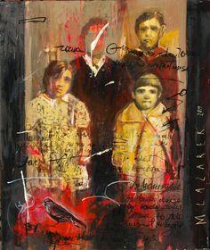 Małgorzata Lazarek: Wspomnienie --olej pł