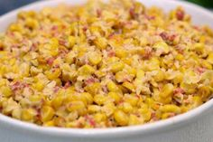 Bacon Flavored Creamed Corn Recipe | In The Kitchen With Honeyville