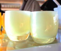 lemon drop | glassybaby