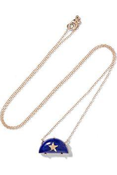 ANDREA FOHRMAN Stella Mccartney Jeans, Gold Necklace, Pendant Necklace, 14 Karat Gold, Lapis Lazuli, Christian Louboutin, Pumps, Shoulder Bag, Chain