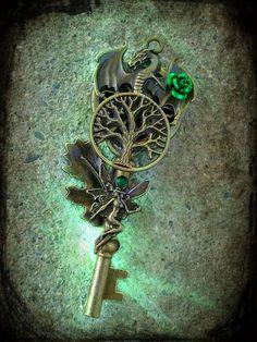 Earth Elemental Dragon Key