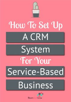 A CRM system takes care of your most important asset, YOUR CLIENTS! Get started setting up your CRM system today, it does not have to be complicated. It's more about documenting the steps than finding the perfect system. Read this post to get started! Business Planning, Business Tips, Online Business, Crm System, Time Management Tips, Project Management, Pinterest Marketing, Business Marketing, Software