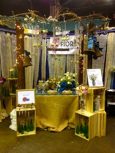 Our booth at today's Bridal Expo!  www.fioreofpensacola.com