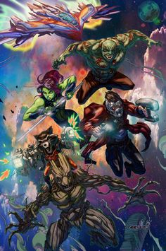 Guardians of the Galaxy by emmshin