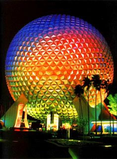 Rainbow Spaceship Earth