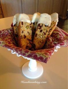 Handiworking: Baking Biscotti