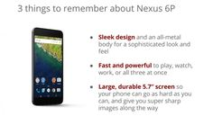 Mola: Imágenes promocionales nos revelan las especificaciones del Nexus 6P