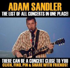 Adam Sandler in your city! Concerts dates & tickets. #music, #show, #concerts, #events, #tickets, #Adam Sandler, #rock, #tix, #songs, #festival, #artists, #musicians, #popular,  Adam Sandler