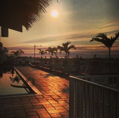 Good morning from the Ocean Club Hotel in Cape May, NJ!