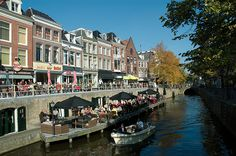 Grachten in Leeuwarden   canals from Leeuwarden