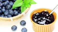 Fresh Sugar Free Blueberry Sauce. Add to plain Greek yogurt or to eat with a spoon. Yum. Summer Berries for low carb Bariatric Eating!