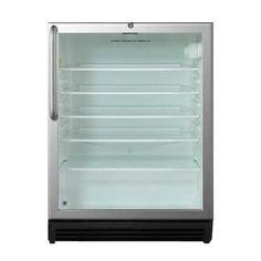 Summit 5.5 Cu Ft Outdoor Glass Door Refrigerator