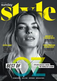 Sunday Times Style Magazine April 2013 Cover (Sunday Times Style Magazine)