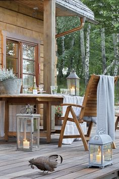 dyingofcute:  pretty outdoor ideas.. this is so inviting for a sunday morning, or also in the evening, coming back from work and just relaxi...