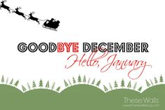 Goodbye December Hello January For Wall – Free Printable Calendar January Pictures, January Images, Hello January, December, New Year Is Coming, Free Printable Calendar, Wallpaper Free Download, Photo Wallpaper, Picture Photo